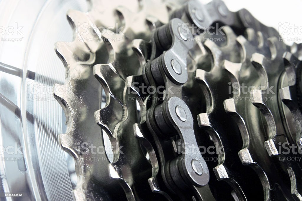 Bicycle Gears stock photo