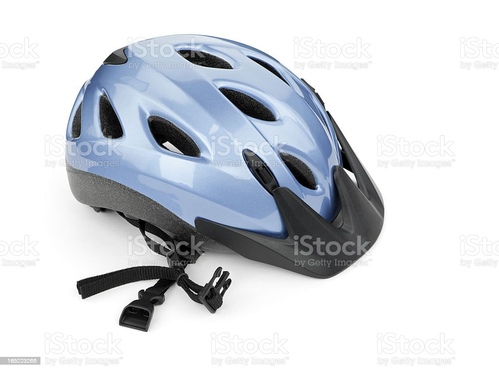 Bicycle Helmet Isolated royalty-free stock photo