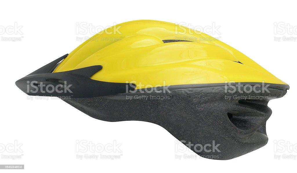 Bicycle Helmet w / path royalty-free stock photo