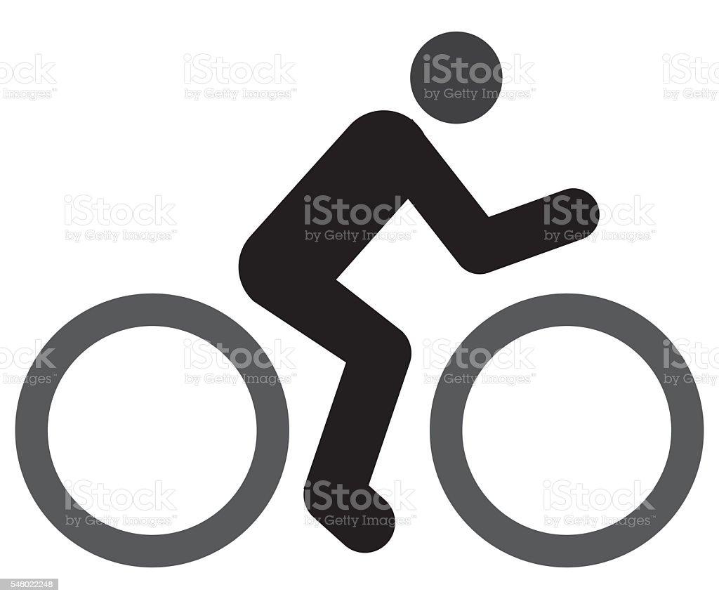 Bicycle Icon stock photo