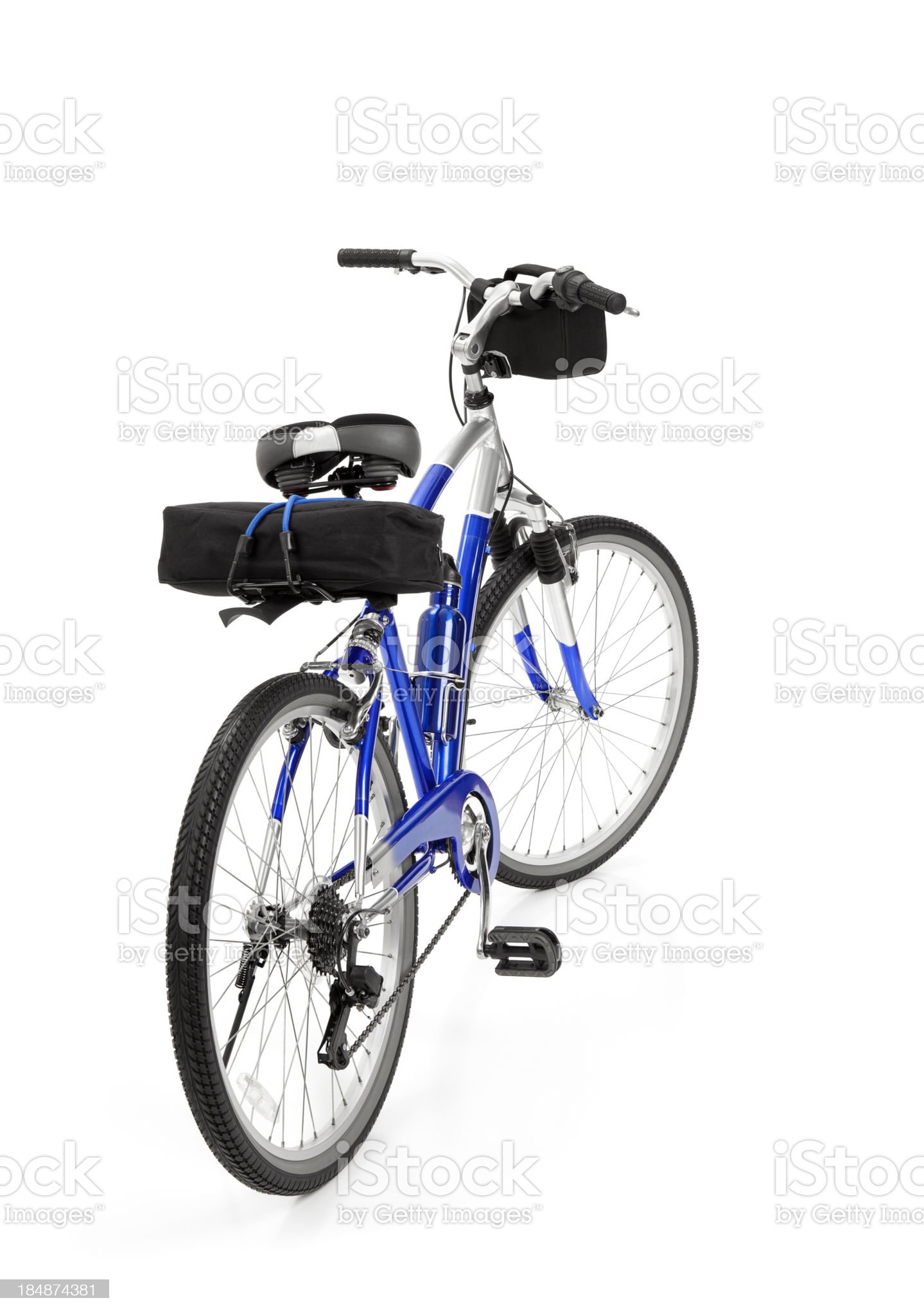 Bicycle Isolated royalty-free stock photo