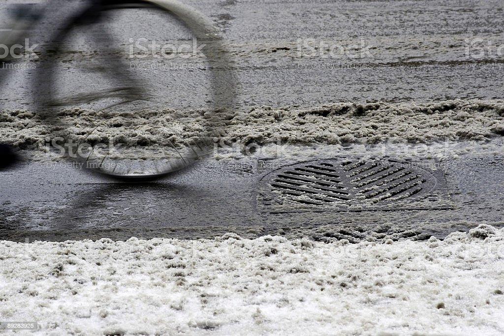 Bicycle Journey stock photo