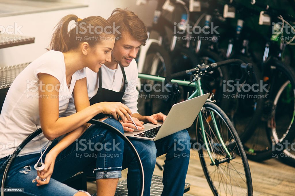Image result for bicycle mechanic