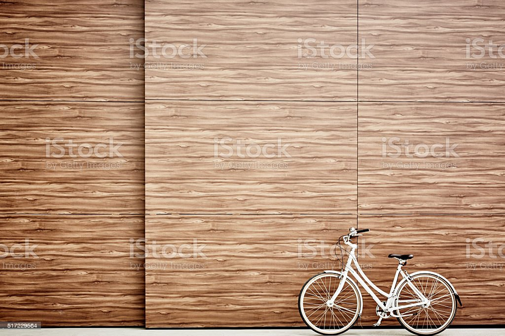 Bicycle outdoors stock photo