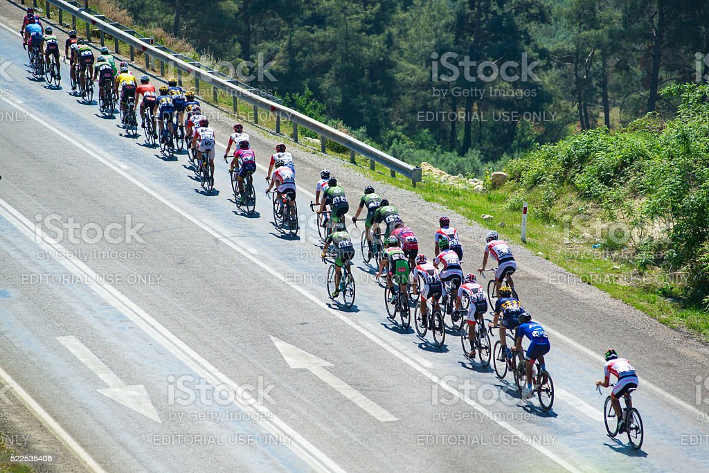 Bicycle Race ' 2. INTERNATIONAL TOUR OF MERSIN ' stock photo