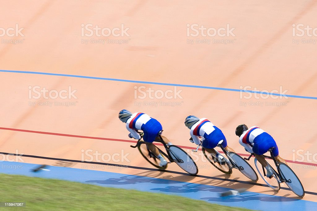 Bicycle Race royalty-free stock photo