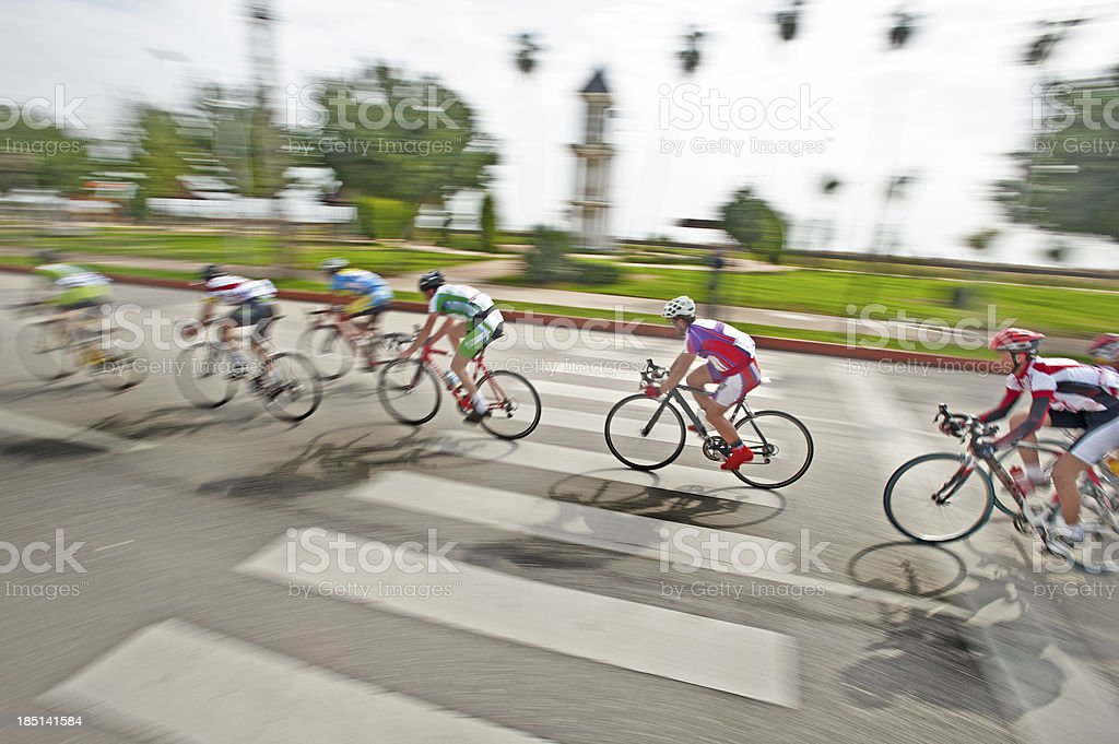 Bicycle Race stock photo