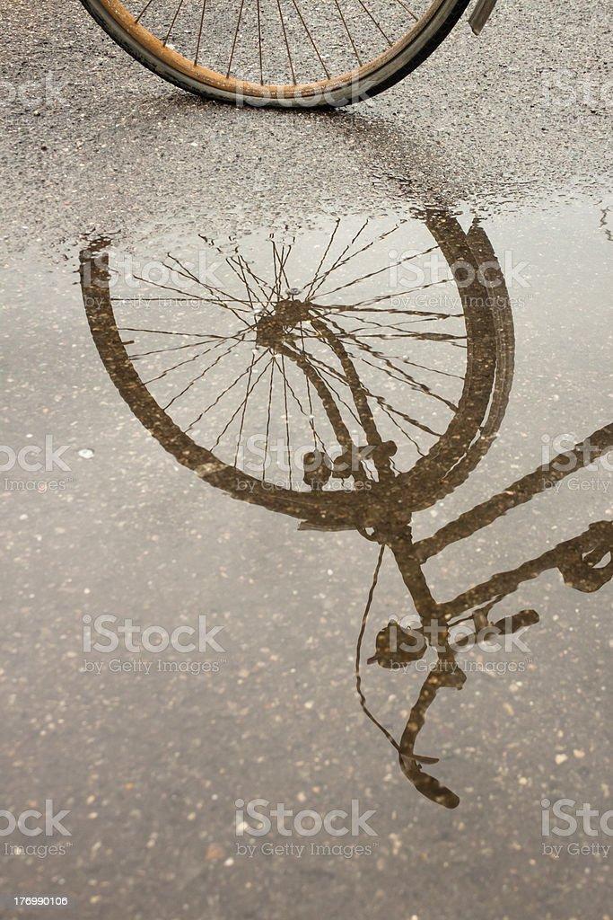 자전거 성찰이요 있는 것과 royalty-free 스톡 사진