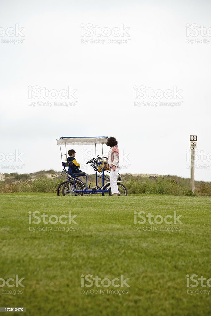 Bicycle Ride royalty-free stock photo