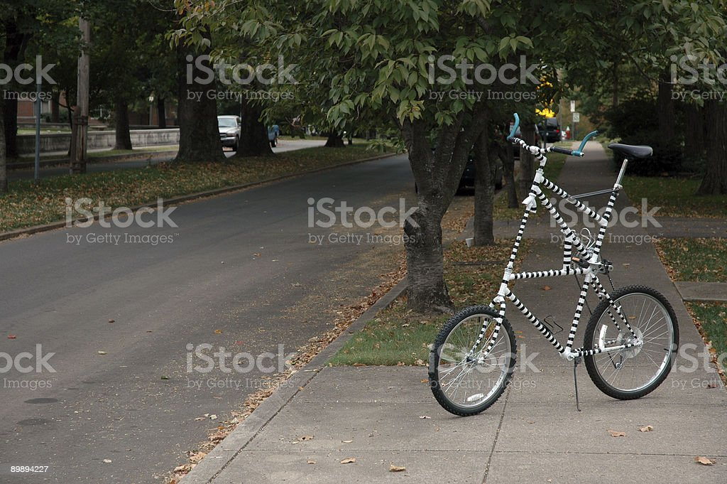 Bicycle - Tall Bike royalty-free stock photo