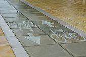 Bicycle Track in Tel Aviv