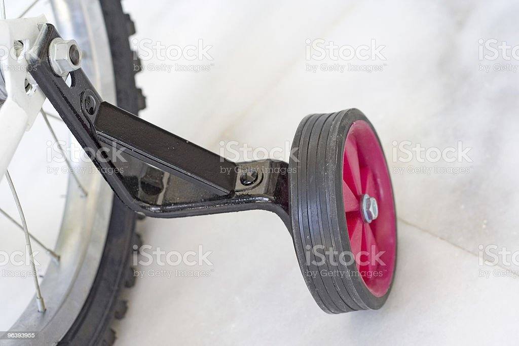 Bicycle Training Wheel royalty-free stock photo