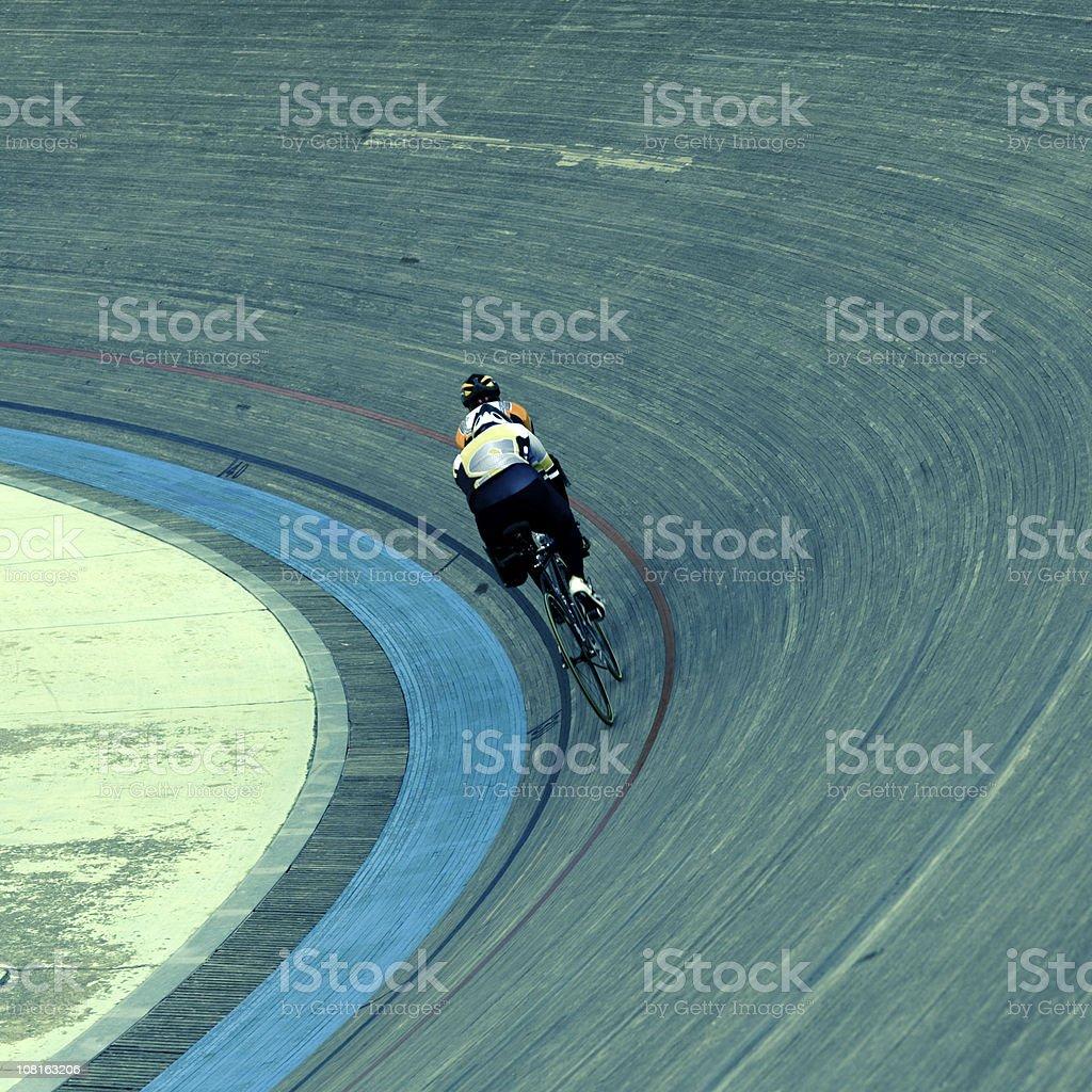 Bicycle Velodrom Race stock photo