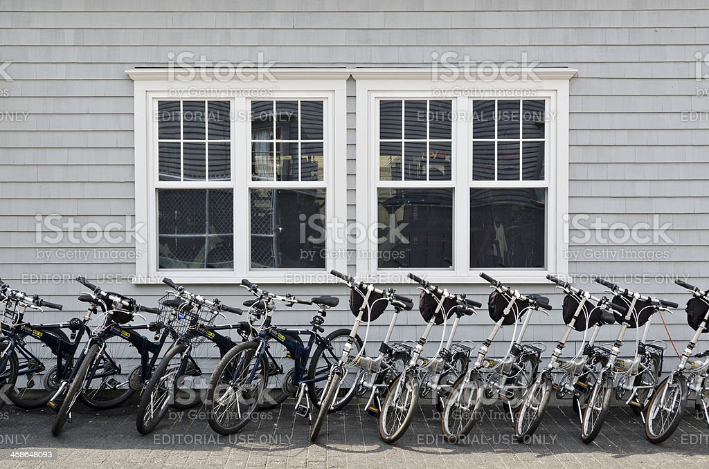 Bicycles for Rent royalty-free stock photo
