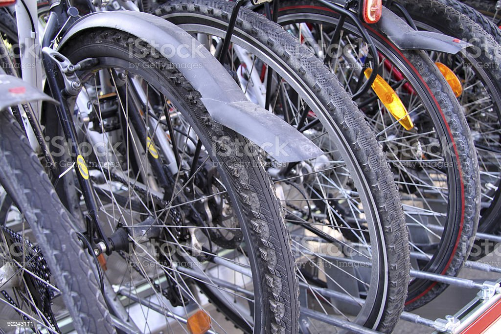 Bicycles royalty-free stock photo