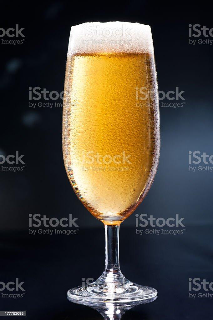 Bier on Disco Bar royalty-free stock photo