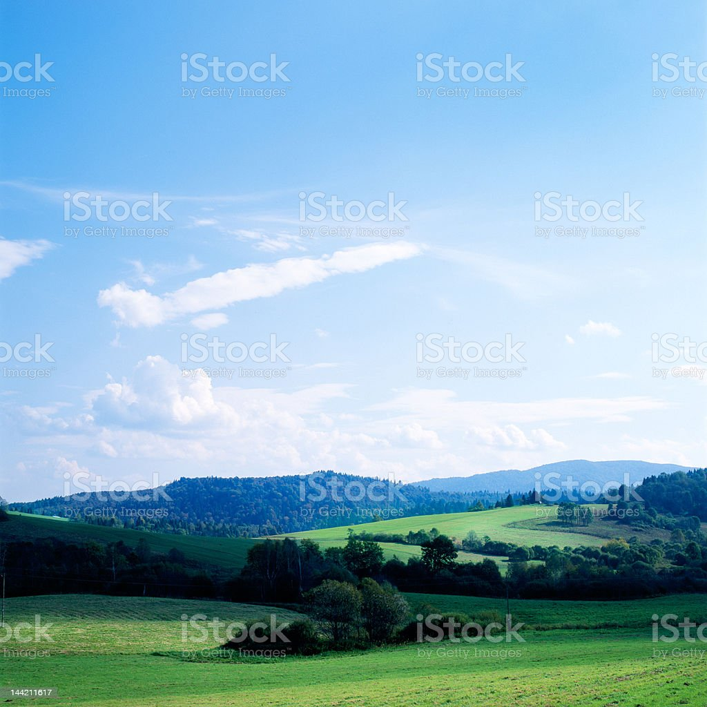 Bieszczady royalty-free stock photo