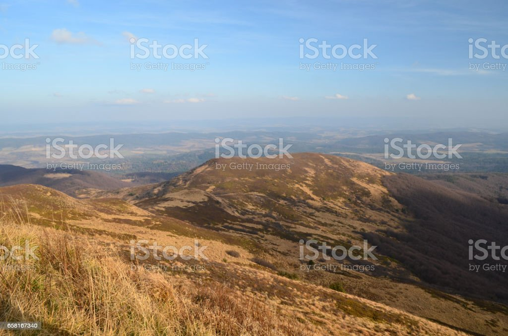 Bieszczady stock photo