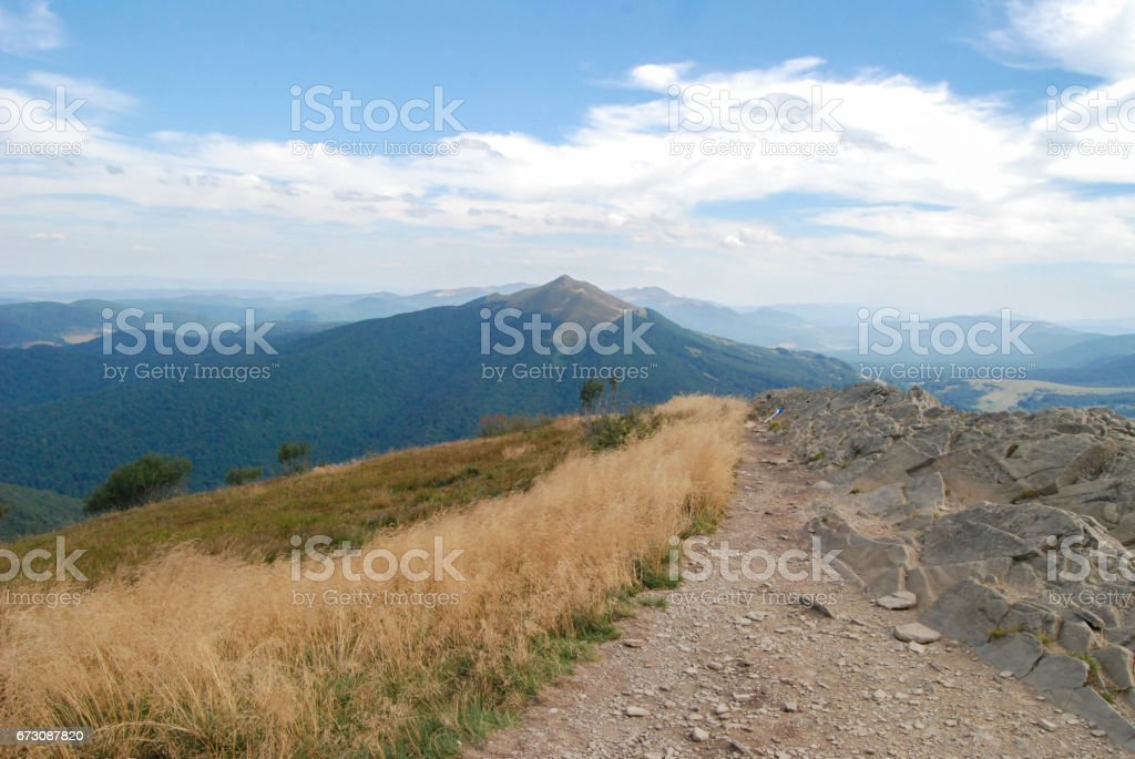 Bieszczady, Poland stock photo