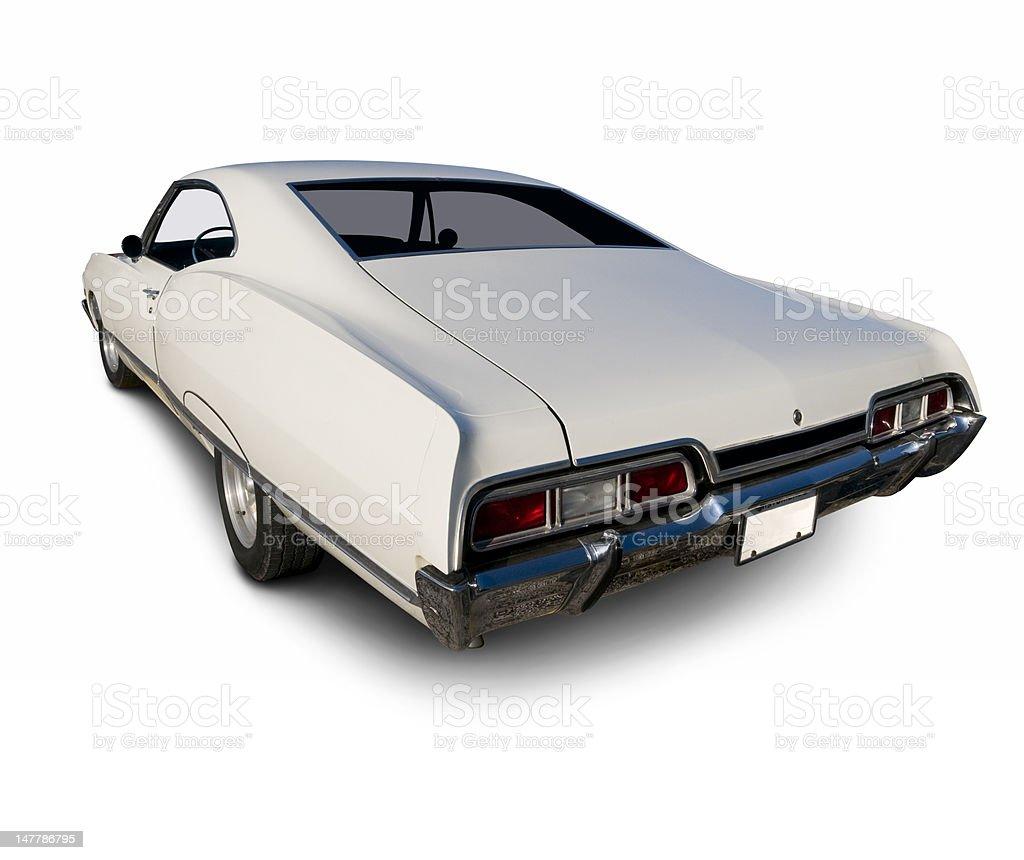 Big 1970's Chevy Impala stock photo