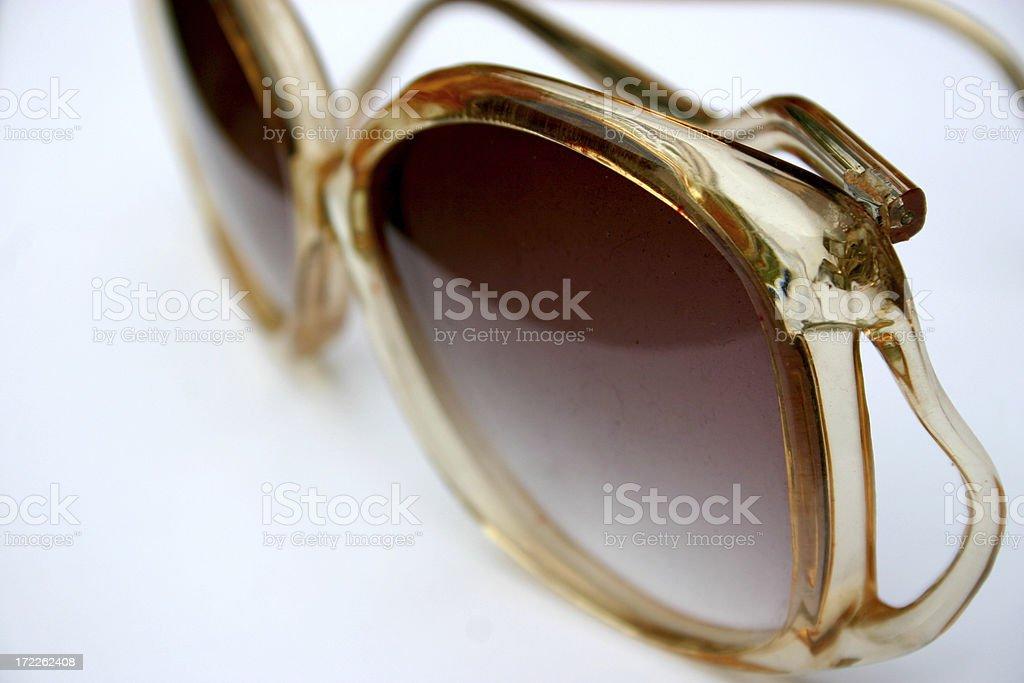 Big 70s Sunnies royalty-free stock photo