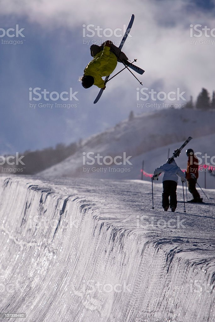 Big Air stock photo