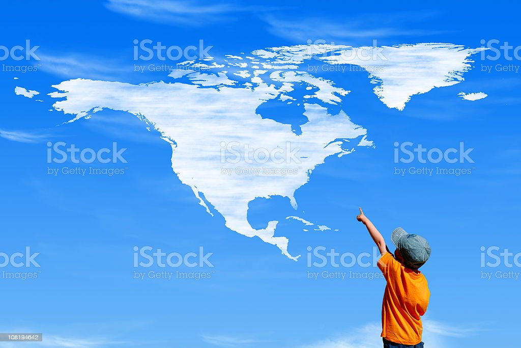 Big America stock photo