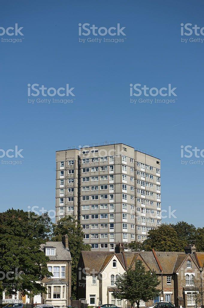 Big And Small Homes stock photo