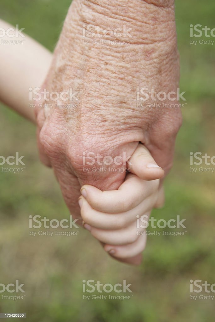 Big and Small royalty-free stock photo