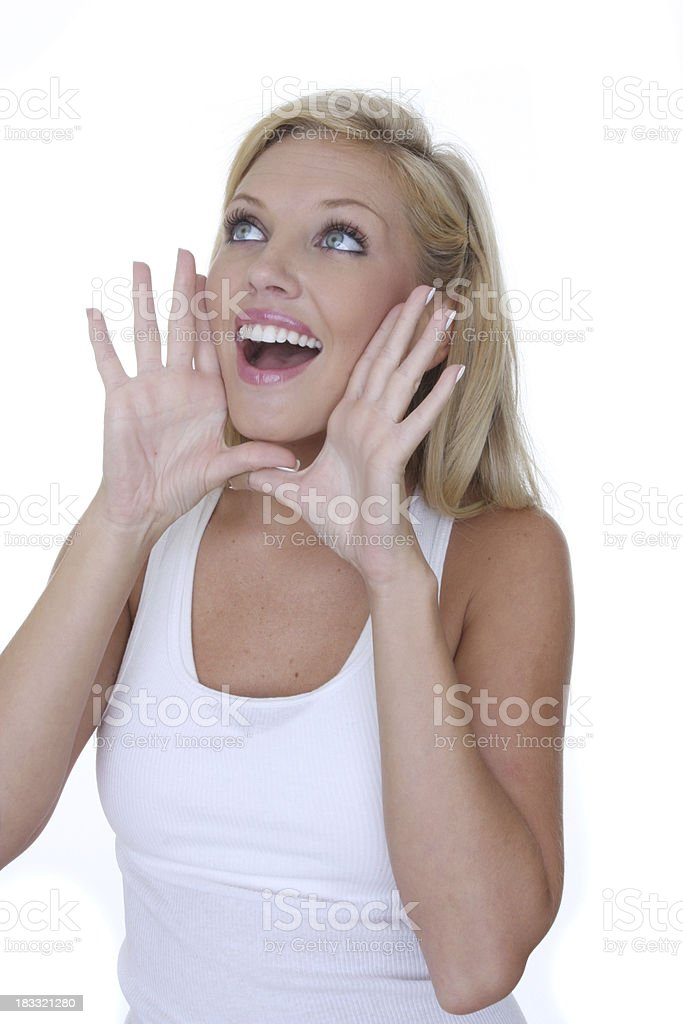 big announcement royalty-free stock photo
