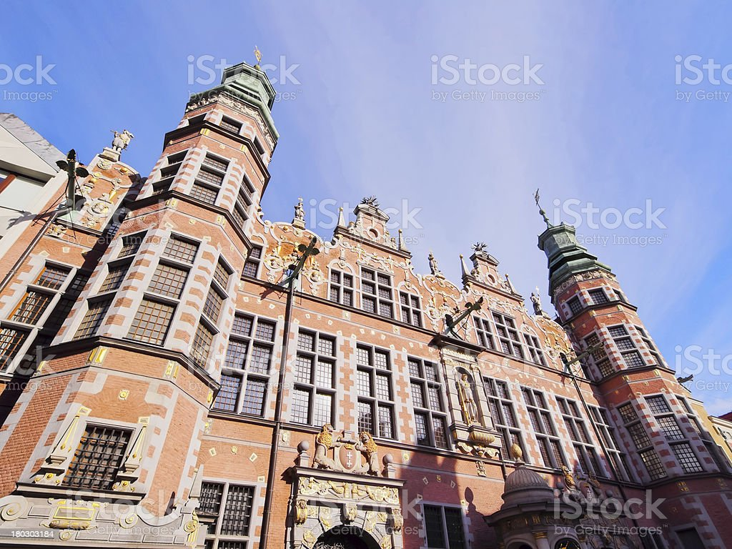 Big Armory in Gdansk, Poland royalty-free stock photo