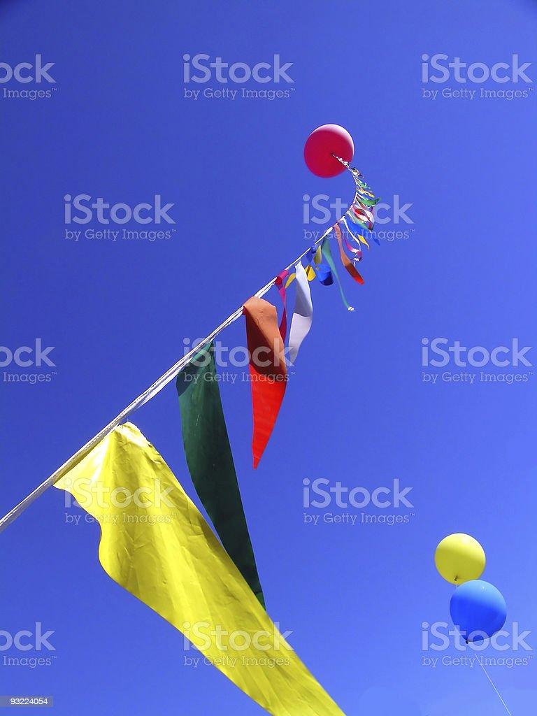 Big Balloon royalty-free stock photo