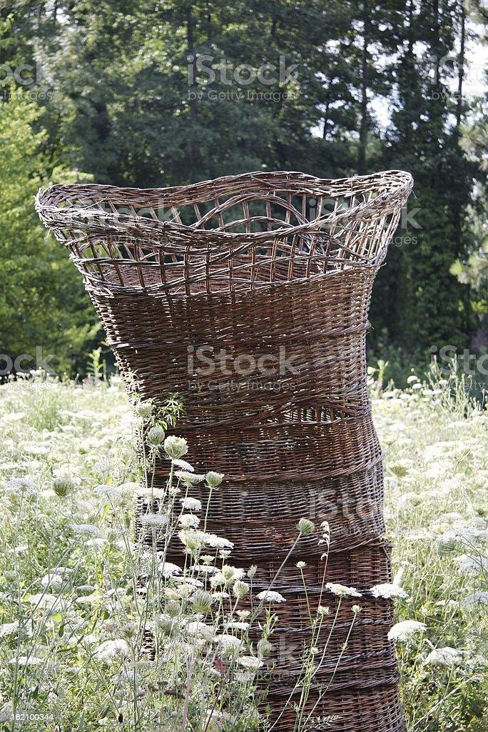 big basket stock photo