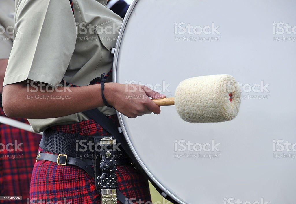 Big bass drum stock photo