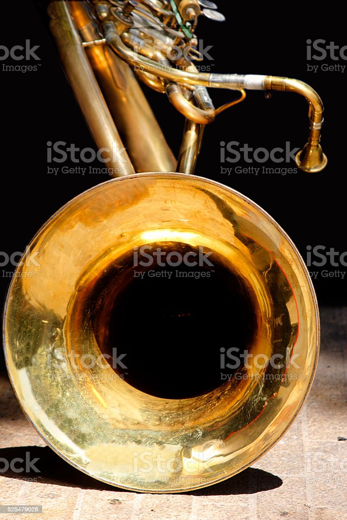 Big Bass Tuba stock photo