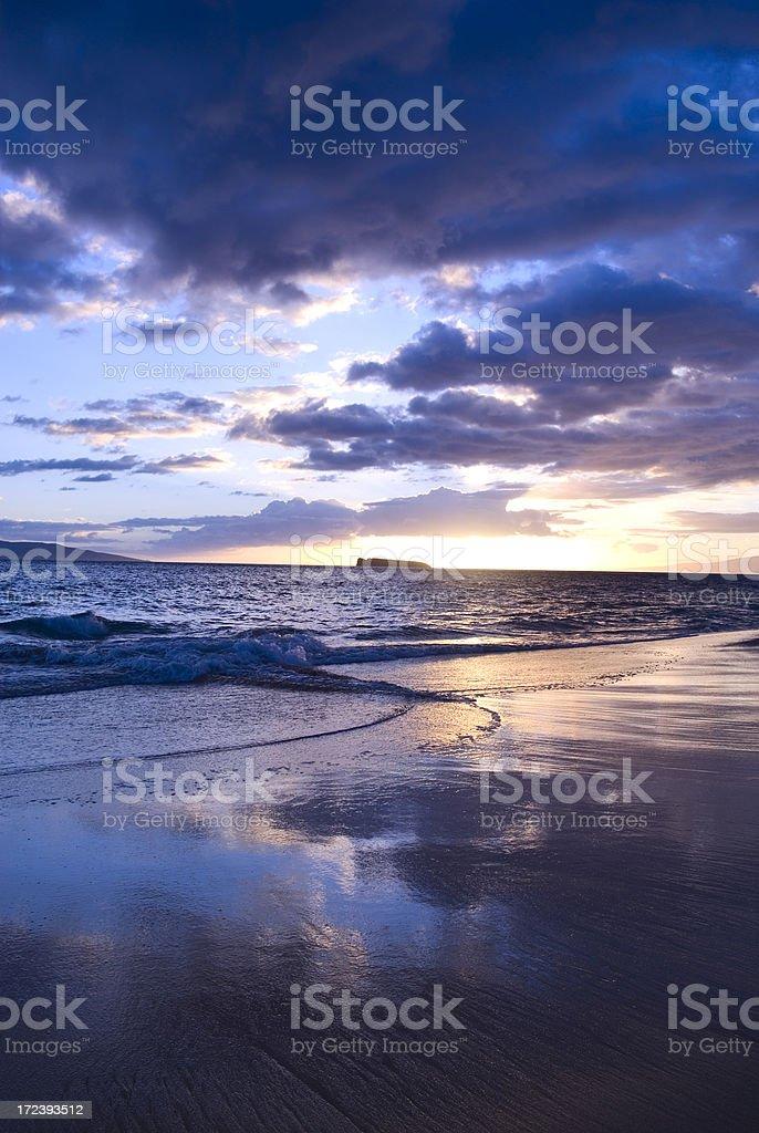 Big Beach stock photo