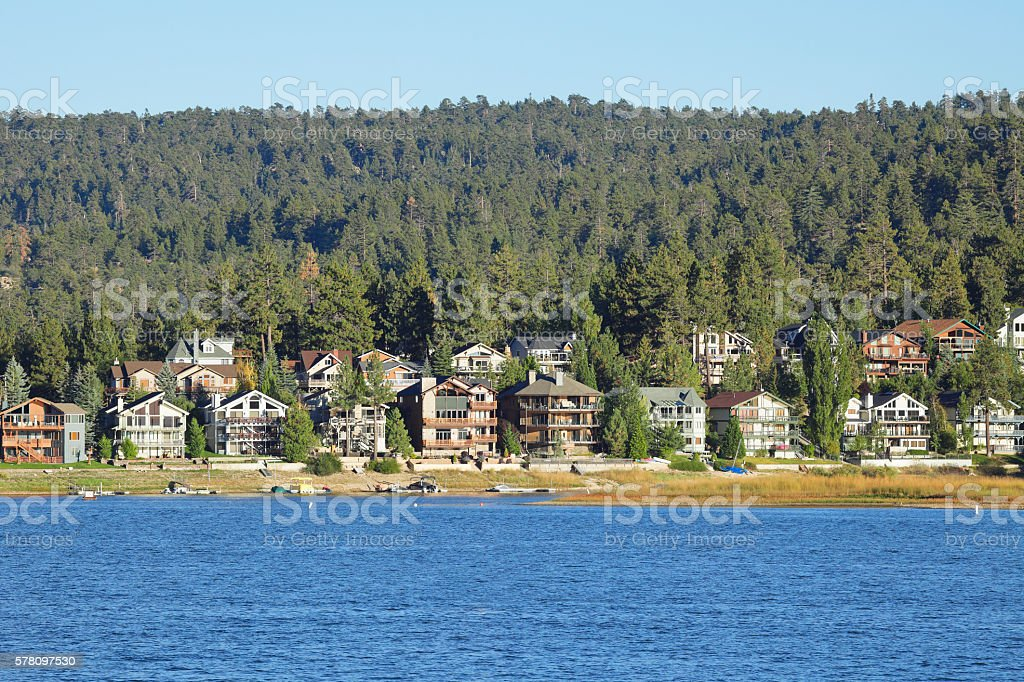 Big Bear Lake - California stock photo
