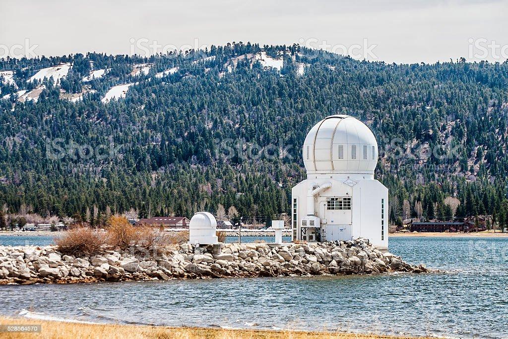 Big Bear Solar Observatory stock photo
