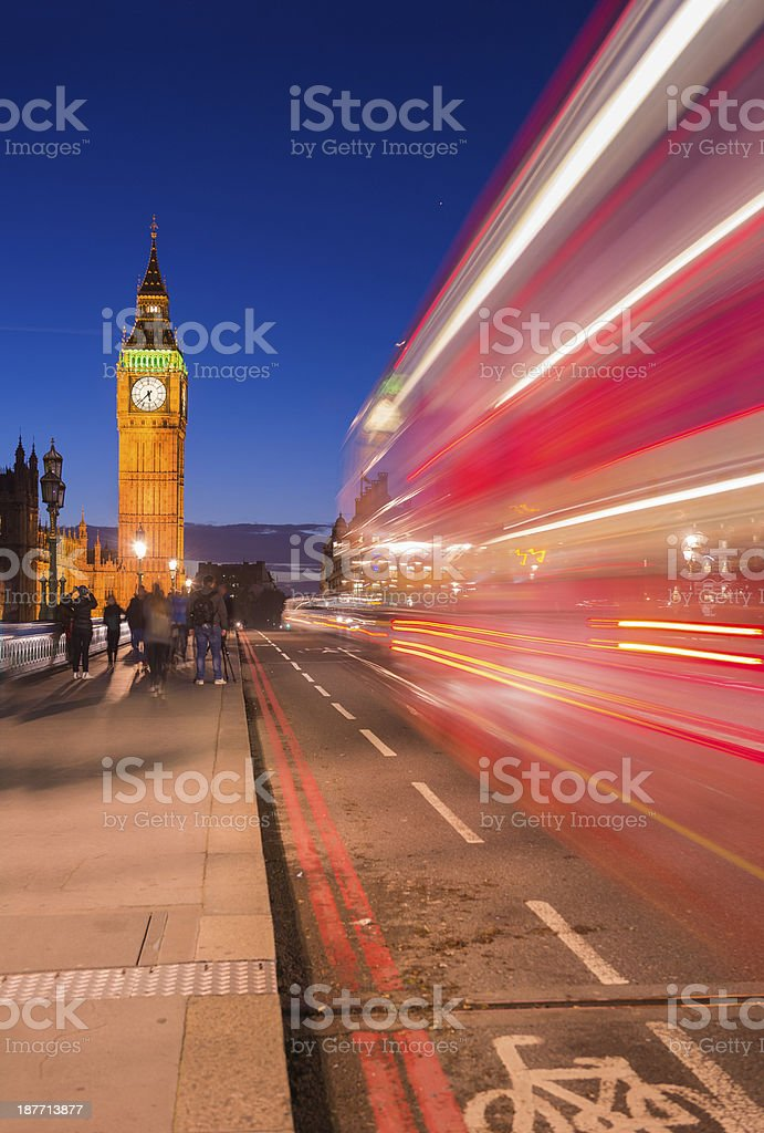 Big Ben against the Blue Sky royalty-free stock photo
