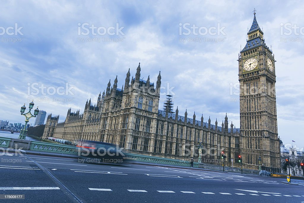 Big Ben and City of westminster royalty-free stock photo