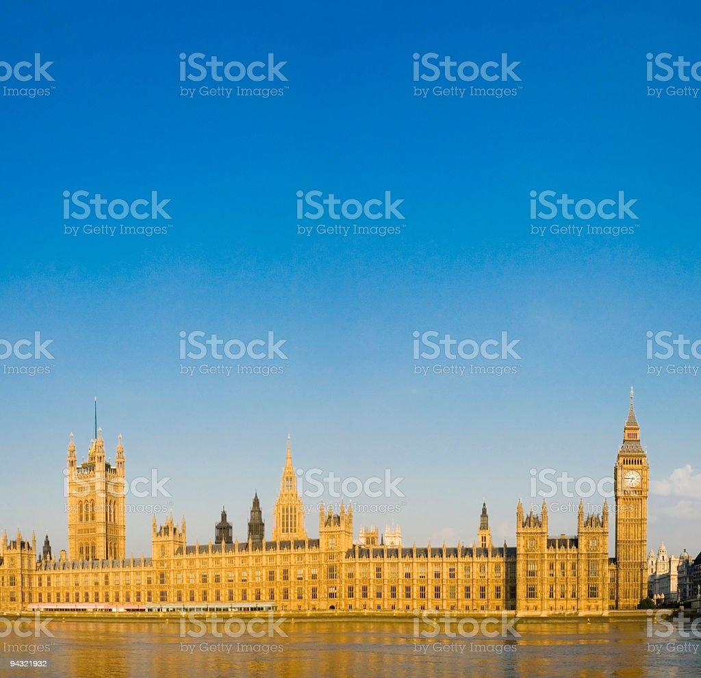 Big Ben and Parliament, London stock photo