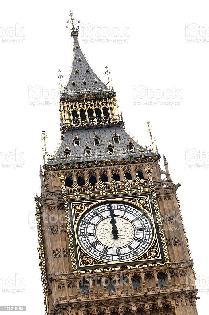 Big Ben at midday royalty-free stock photo