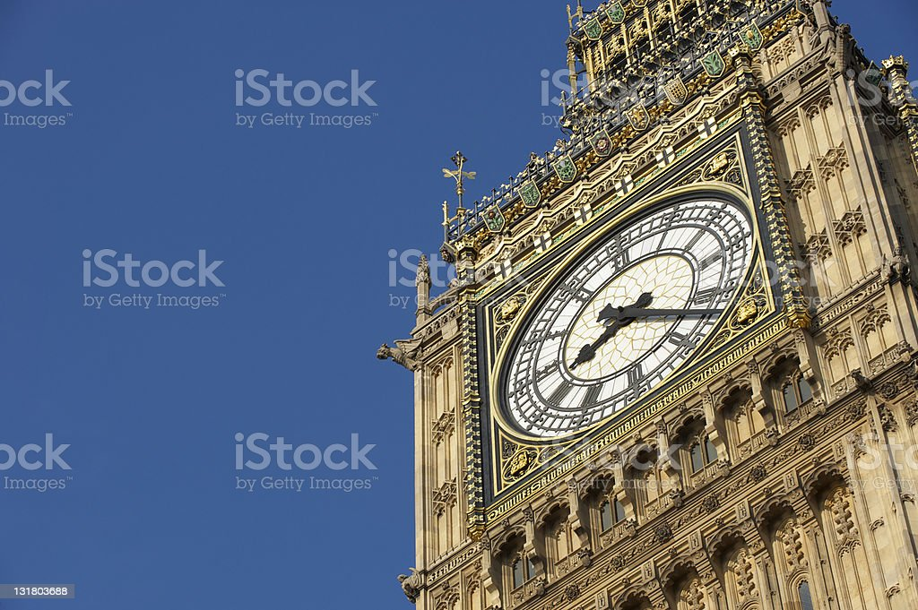 Big Ben clock stock photo