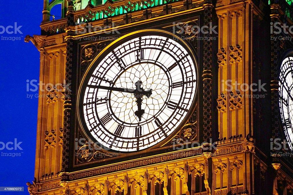 Big Ben - Clock royalty-free stock photo