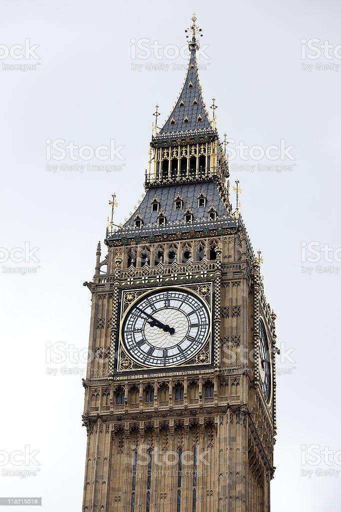 Big Ben Clock Tower, London, England, UK royalty-free stock photo