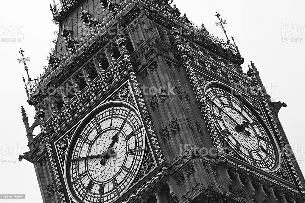 Big Ben clock # 2 XL royalty-free stock photo