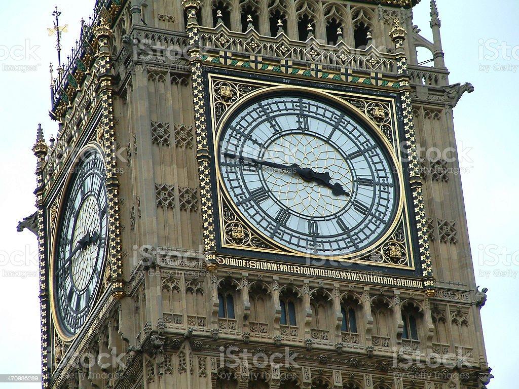 Big Ben Close Up royalty-free stock photo