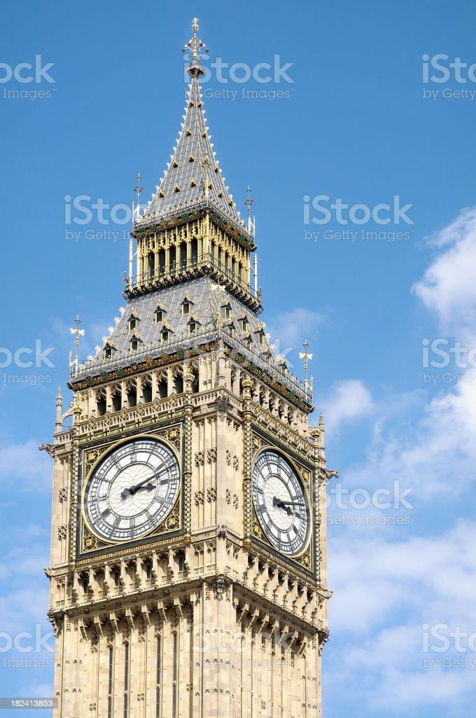 Big Ben Close-Up stock photo