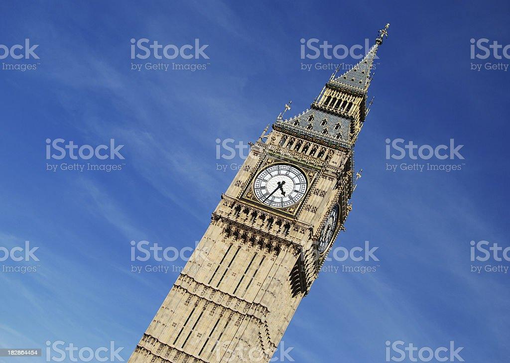Big Ben Full Color royalty-free stock photo