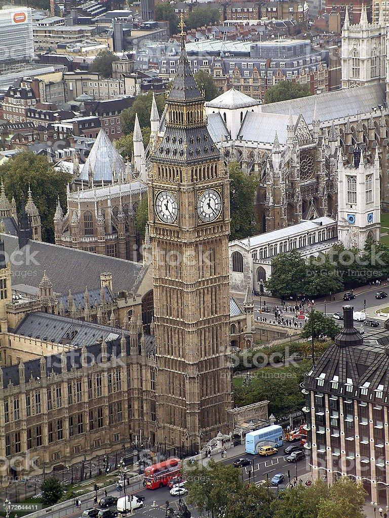 Big Ben Full Size Shot royalty-free stock photo
